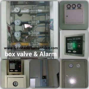 Box Valve & Alarm Gas Medis