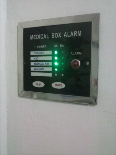 Harga Alarm Gas Medis Rumah Sakit