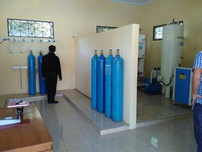 Perusahaan Gas Medis Rumah Sakit di Ketanggungan Brebes Jawa Tengah