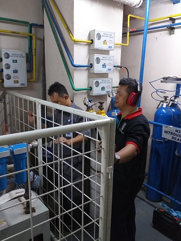 Ahli Instalasi Gas Medis Rumah Sakit di Kusan Hulu Tanah Bambu Kalimantan Selatan