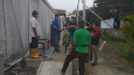 Ahli Instalasi Gas Medis Rumah Sakit Darurat COVID di Tegal Jawa Tengah