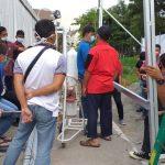 Ahli Instalasi Gas Medis Rumah Sakit Darurat COVID di Banyuasin Sumatra Selatan