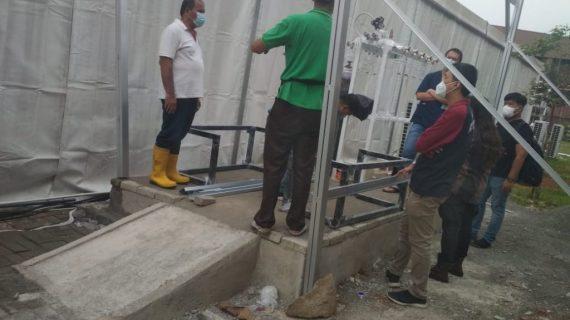 Ahli Instalasi Gas Medis Rumah Sakit Darurat COVID di Bengkayang Kalimantan Barat