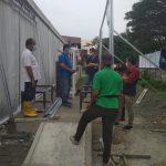 Ahli Instalasi Gas Medis Rumah Sakit Darurat COVID di Dharmasraya di Sumatera Barat