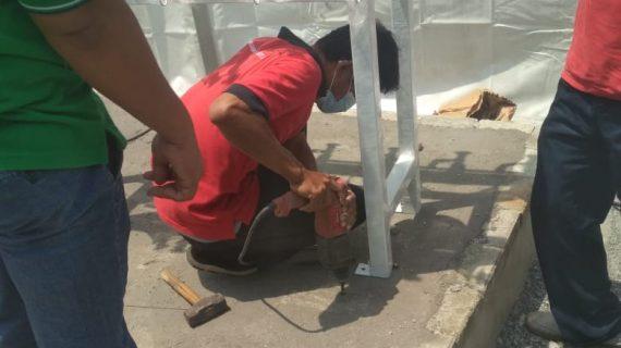 Kontraktor Gas Medis Rumah Sakit Darurat COVID di Murung Raya Kalimantan Tengah