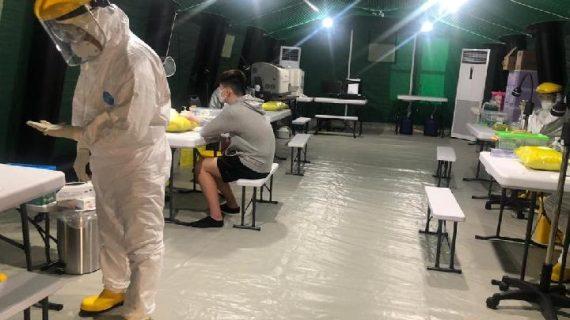 Kontraktor Gas Medis Rumah Sakit Darurat COVID di Pagar Alam Sumatra Selatan