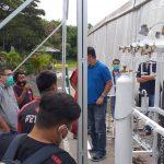 Ahli Instalasi Gas Medis Rumah Sakit Darurat COVID di Toraja Utara Sulawesi Selatan